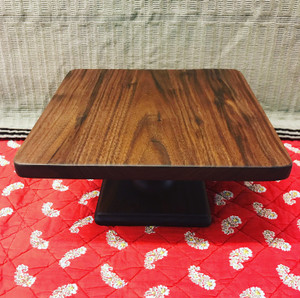 Square Cake Stand - Walnut