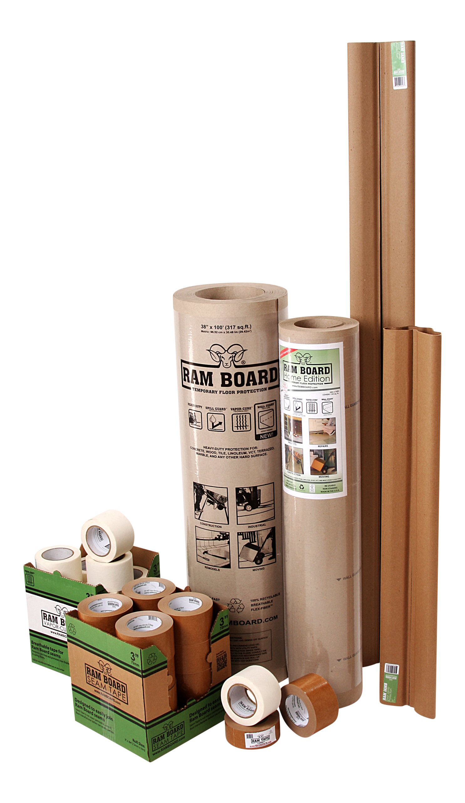Ram Board Heavy Duty Hard Floor Protection Construction