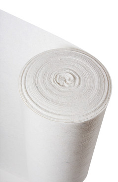 Standard white hard floor protection felt fleece