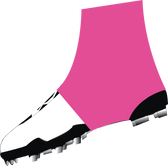 Solid Hot Pink Spats