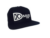 "Classic ""Dmaxx Sports"" Logo Snap Back - Black with White logo"