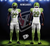 Fully Custom Game Football Uniforms