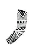White and Black Tribal Print - Kings Print