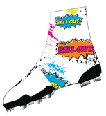 "White ""Ball Out"" Spats( cleat covers)"
