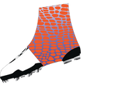 Gator- Print Royal Blue fade to White Spats  (cleat covers)