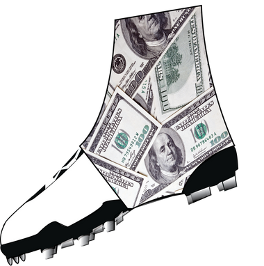 Money Spats Cleat Covers Dmaxxsports