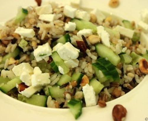Rijst salade hapje