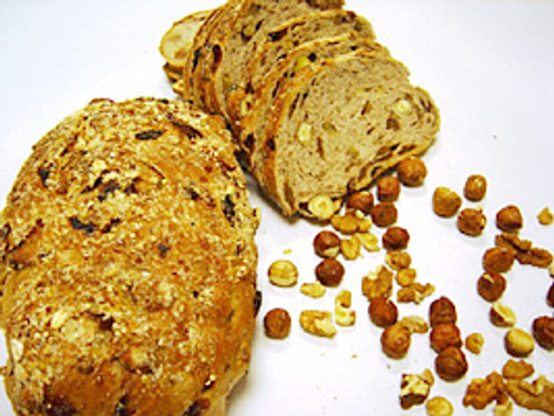 | Noten-rozijnen brood |