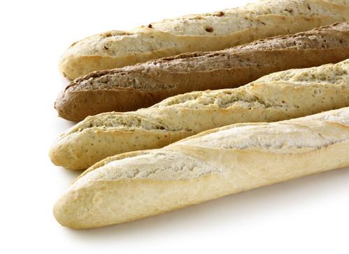 | Stokbrood : wit - mais - pompoen |