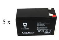 Unison MPS1200 UPS battery set set 14% more capacity
