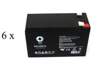 EPE Tech Integrity IS 1122/11 UPS battery set set 14% more capacity