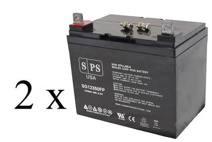 Pihsiang 109101-88104-36L 12V 35Ah scooter battery set