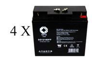 Alpha Technologies AS 2000 battery set