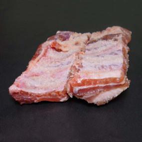 Costilla de cerdo gallego salada