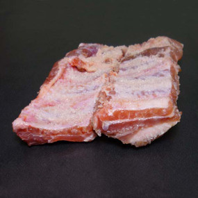 Costilla de cerdo Duroc salada