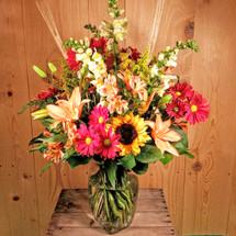 Autumn Vase Bouquet (SCF2008)