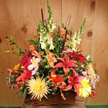 Autumn Basket Centerpiece (SCF2007)