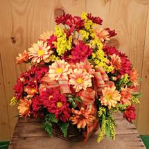 Fall Daisy Basket (SCF2003)