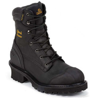 Chippewa 55058 Black Oiled Logger Composite Toe