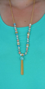 Stacking Pebbles Necklace***FINAL SALE****