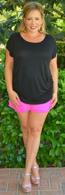 Spirit Of Love Short - Neon Pink***FINAL SALE***