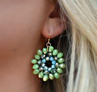 Let's Go Green Earring