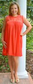 Secret Of Success Dress  -  Red