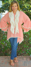 Polished To Perfection Scarf  - Beige***FINAL SALE***