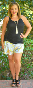 Pocket Full Of Posies Shorts***FINAL SALE***