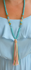Out On A Limb Tassel Necklace