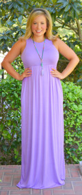 Passion For Fashion Maxi   -   Violet