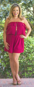 Take Me Away Romper***FINAL SALE***