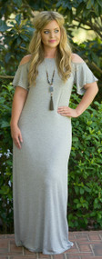 I'm Limited Edition Maxi  -  Heather Grey***FINAL SALE***