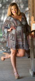 Pattern Of Perfection Dress***FINAL SALE***