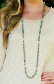 All Dolled Up Necklace - Green