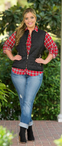 Aspen Bound Vest - Black***FINAL SALE***