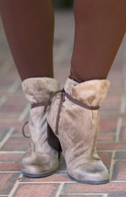 New Direction Bootie  - Taupe***FINAL SALE***