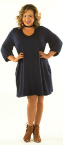 I'm With The Band Dress - Navy***FINAL SALE***