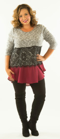 Dinner And A Date Tunic***FINAL SALE***