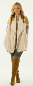 """The """"Vest"""" Of The Story  - Ivory***FINAL SALE***"""