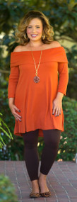 Family Feast Tunic  -  Rust***FINAL SALE***