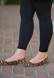 Runway Ready Ballet Flat  -  Cheetah