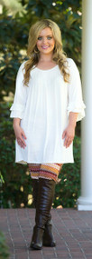 Keep At Arms Length Tunic  -  Ivory***FINAL SALE***