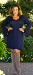 Insta-Famous Dress - Navy***FINAL SALE***