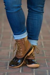 Duck Duck Goose Boots  - Tan