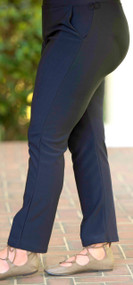 Pull On Perfect Knit Pant  -  Navy***FINAL SALE***