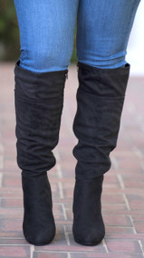 Step Up Your Game Boot - Black***FINAL SALE***