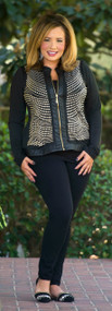 The Janet Jacket  -  Black***FINAL SALE***