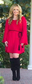Too Tempting Dress - Red