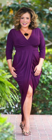Plum Perfect Dress***FINAL SALE***